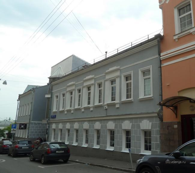 Москва, Пушкарев перулок дом 5, ЦАО, Мещанский район