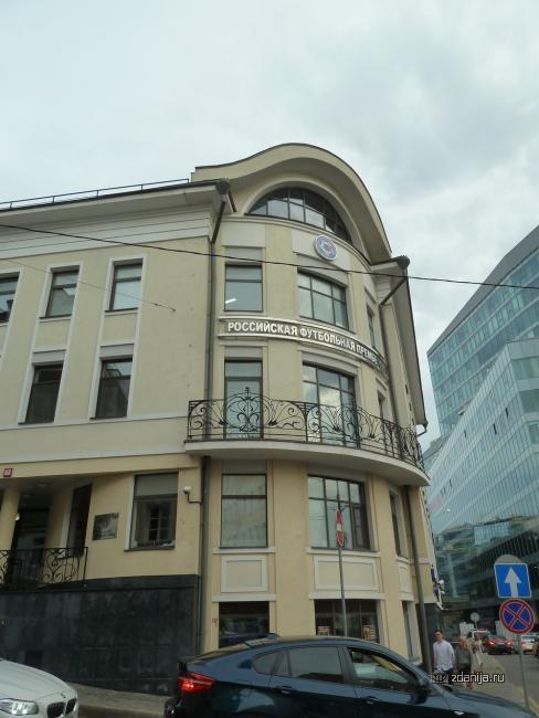 Москва, Трубная улица, дом 14, стиль модерн (ЦАО, район Мещанский)