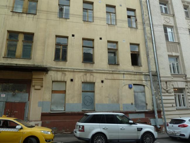 Москва, Пушкарев пер., д.12 (ЦАО, район Мещанский)