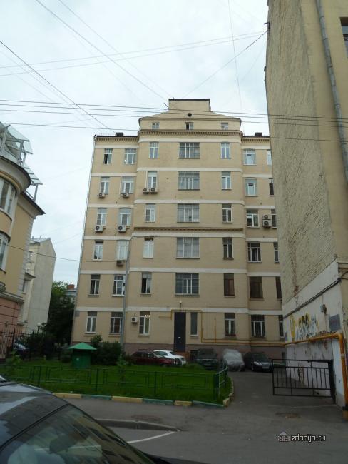 Москва, Сергиевский Б. пер., д.11 (ЦАО, район Мещанский)