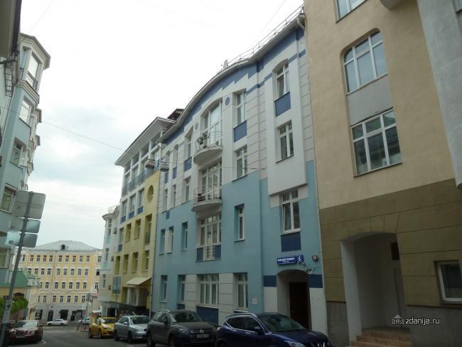Москва, Большой Головин переулок, дом 5 (ЦАО, район Мещанский)