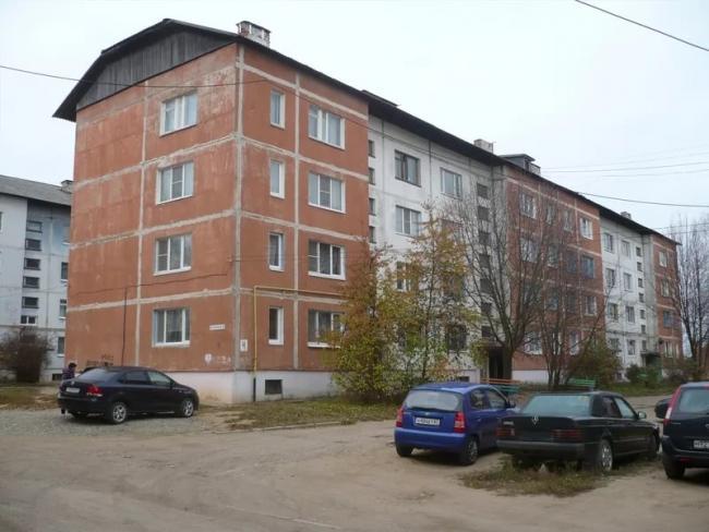 Серия 35 - планировка квартир (отр.адм.) г. Вязьма, ул. Парковая, дом 4