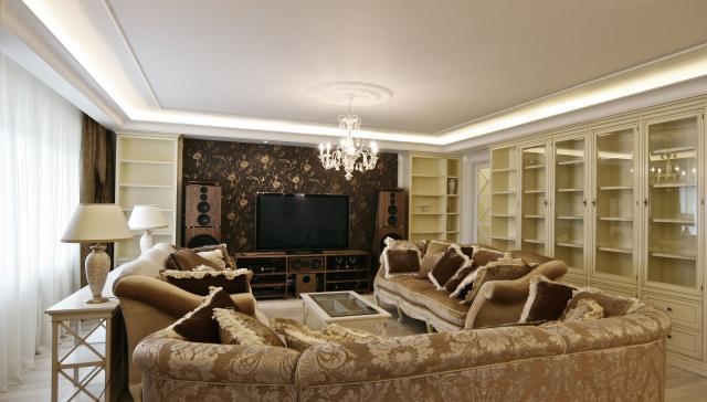 Дизайн интерьера ваших квартир - смесь ар-деко и лофт