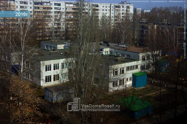 Серия 9-этажных домов в Ульяновске.