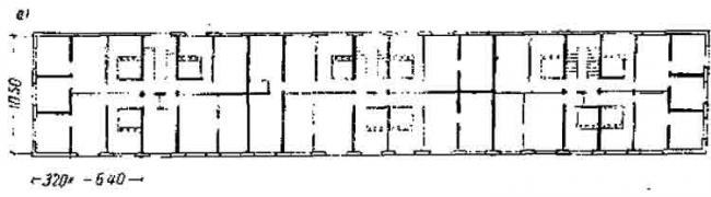 Крупнопанельный дом серии 1-467 секция