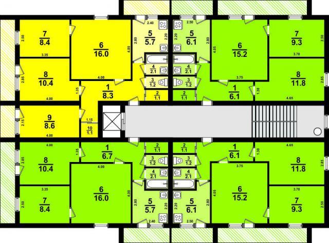 1-447С-51 ? Модификация 1-447С-42 ?  (отр.адм.) Ищу планировку домов серии 1-447С-51