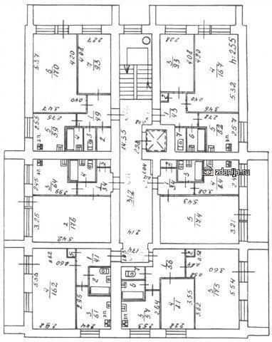 планировка квартир в домах Дома серии 1-447С-42