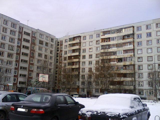 дома серии 111-90 ( Дом на ул. Свободы, 23 в Великом Новгороде )