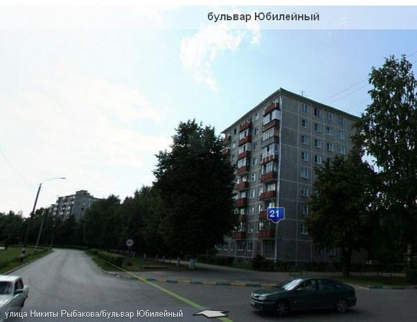 Типовые серии в Нижнем Новгороде - Юбилейный бульвар