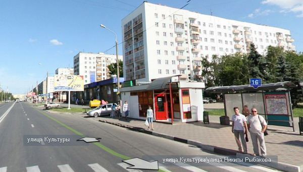 Типовые серии в Нижнем Новгороде - многоэтажки с лоджиями в торце на ул. Культуры