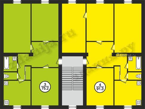 Дома серии 1-410 (отр.адм.) планировки, ранее считались, как дома серии II-03