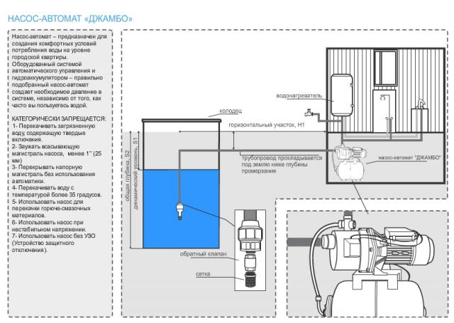 насос-автомат
