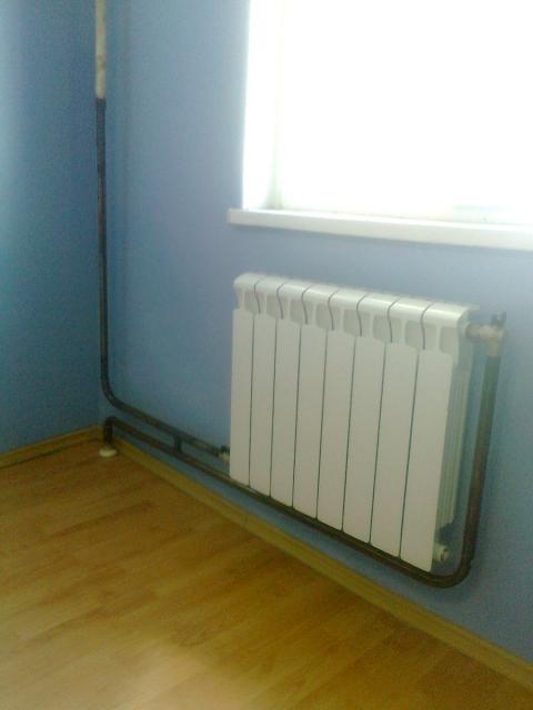 подключение радиаторов отопления при нижней подачи.