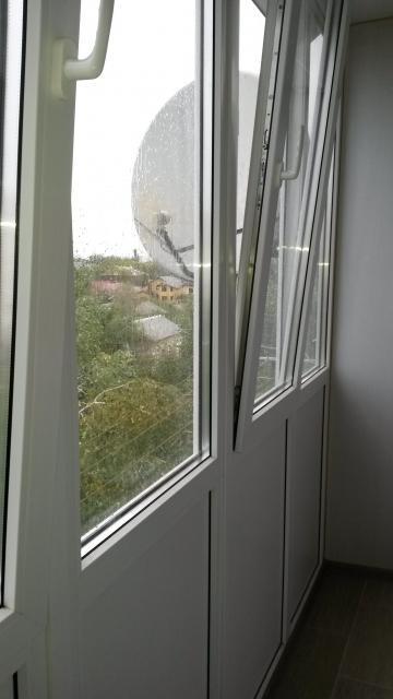 Вид балкона из нутри
