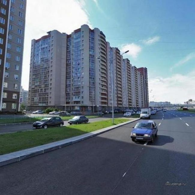 г Санкт-Петербург, пр-кт Богатырский, дом 36, корп.1 - индивидуальный проект, планировки квартир