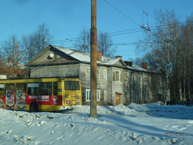 Ярославль, деревянные двухэтажки