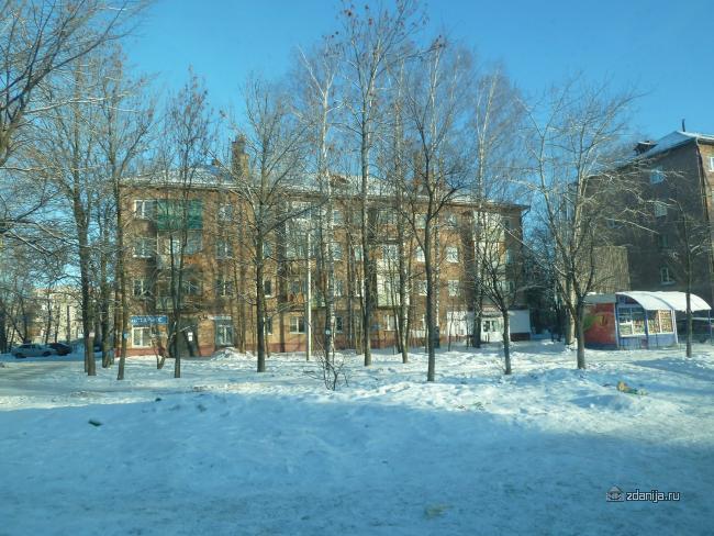 Серия 1-447С-2 (отр. адм.) Ярославль, кирпичная четырехэтажка