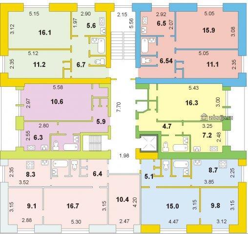 дом серии 1-447С-26