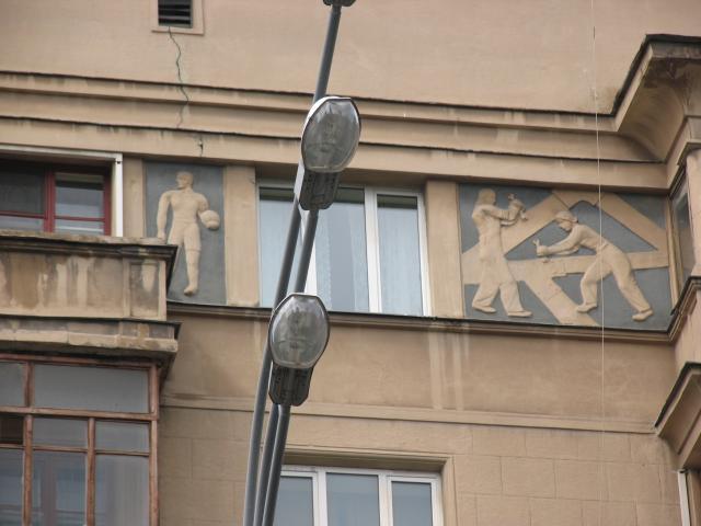 Конструктивистский дом - Москва, Фадеева дом 2, Оружейный переулок, дом 27
