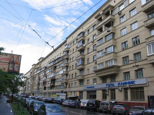 Конструктивистский дом - Москва, Оружейный переулок, дом 27