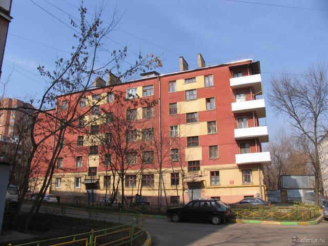 Колодезный переулок, дом 2 корп 2