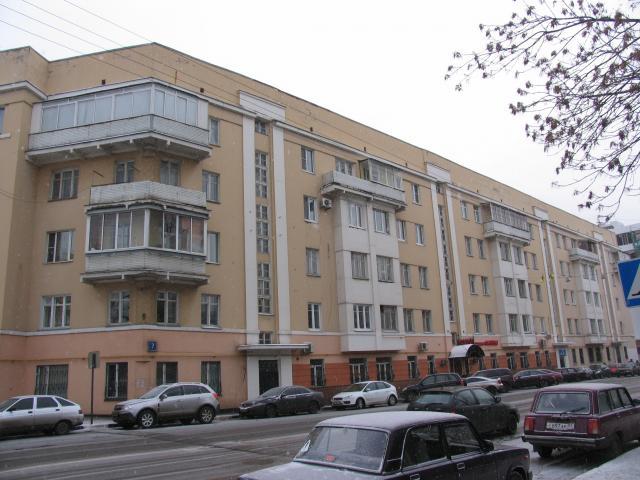 Конструктивистский дом улица Восточная дом 7 Москв
