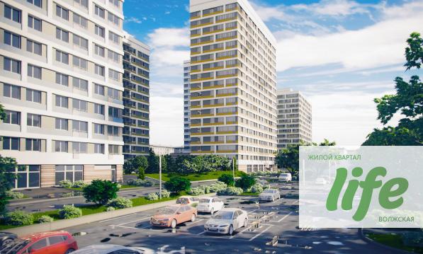 Жилой квартал LIFE - Москва, рядом с метро Волжская