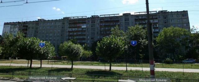 Типовые серии в Нижнем Новгороде - Мещерский бульвар, дом 2