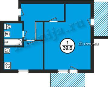планировки однокомнатных квартир в домах в домах 87 серии