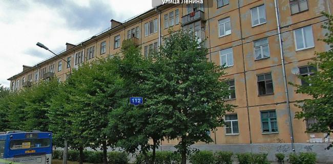 Типовые дома в Череповце, плюс серия 1-420 (отр.адм.), ретро фото