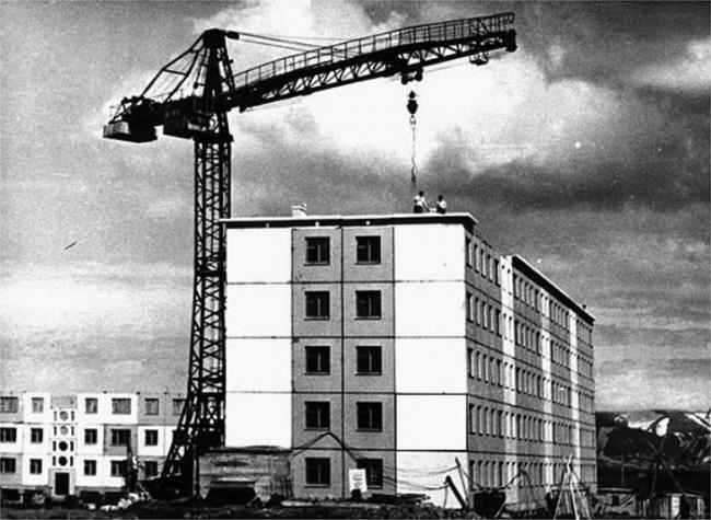 1-464-М Первые дома норильского крупнопанельного домостроения (отр.адм.) Ретро фото 13