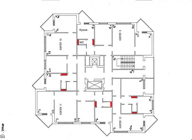 Эстонские серии. Башни (12-16 этажей)