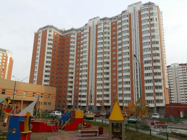 Москва, улица Липчанского, дом 1 (ЮВАО, район Некрасовка)