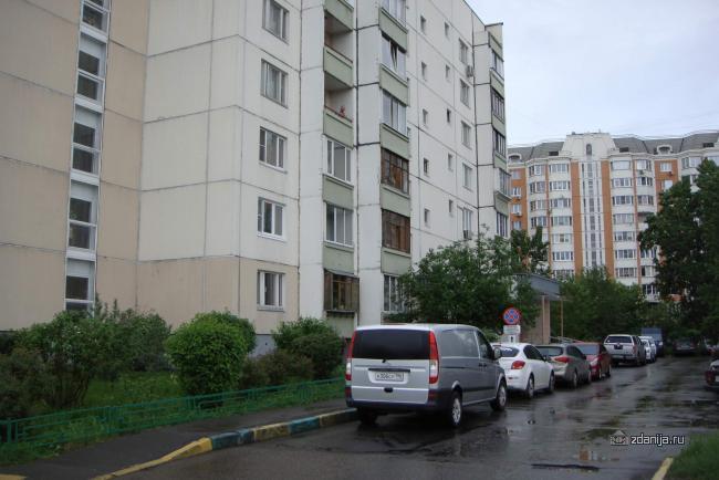 Москва, улица Марьинский Парк, дом 7, корпус 1, Серия П-46 (ЮВАО, район Марьино)
