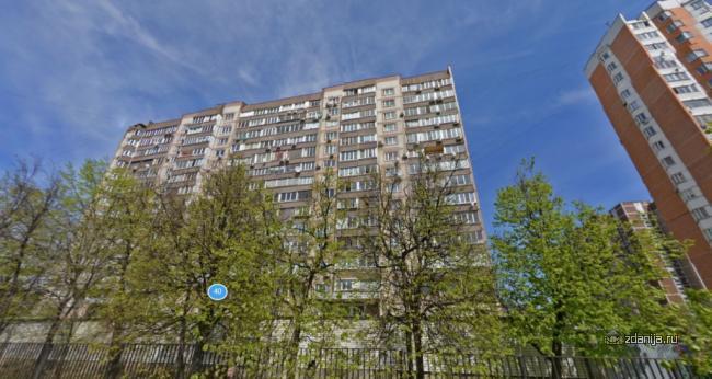 Москва, Партизанская улица, дом 40, Серия П-55 (ЗАО, район Кунцево)