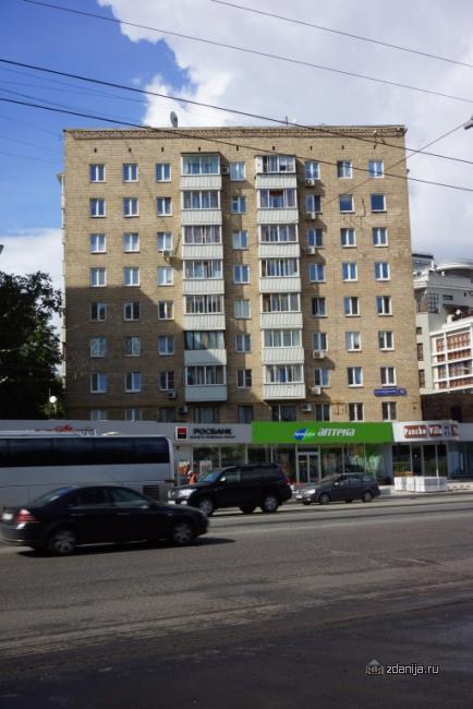 Москва, улица Большая Якиманка, дом 52 (Центральный Административный Округ, район Якиманка)