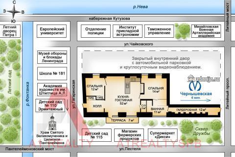 г Санкт-Петербург, ул. Гагаринская, д.14