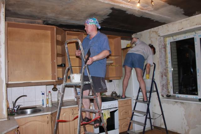 Как недорого сделать ремонт после пожара своими руками
