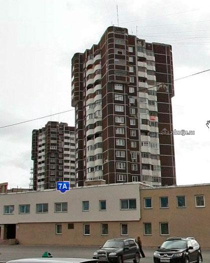 Серия 17-ти этажки, Красноярск.
