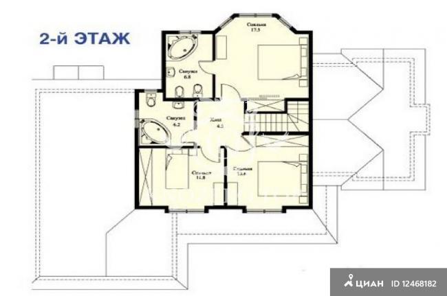 Планировки коттеджей от 200 до 300 кв.м