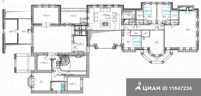 Планировки коттеджей более 1000 квадратных метров