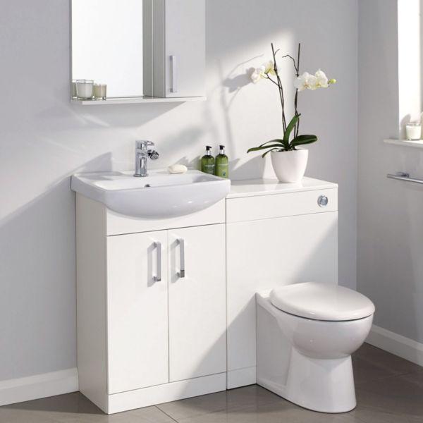 Прекрасный выбор для ванной - мебель из пластика