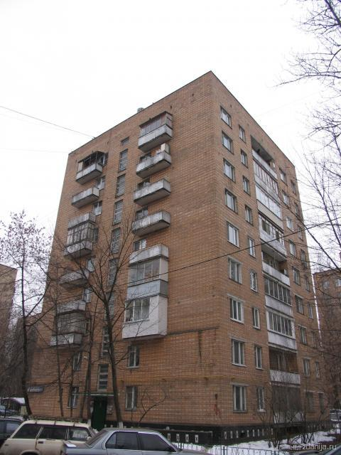 ул. 5-ая Кожуховская, дом 20