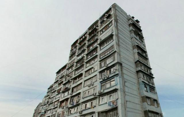 Типовые серии жилых зданий Сочи - улица Пасечная, 54