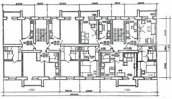 86 серия - планировки квартир (проект 114-86) (отр.адм.) Основная ветка.