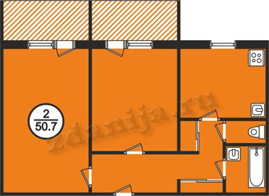 планировки двухкомнатных квартир в домах серии 161