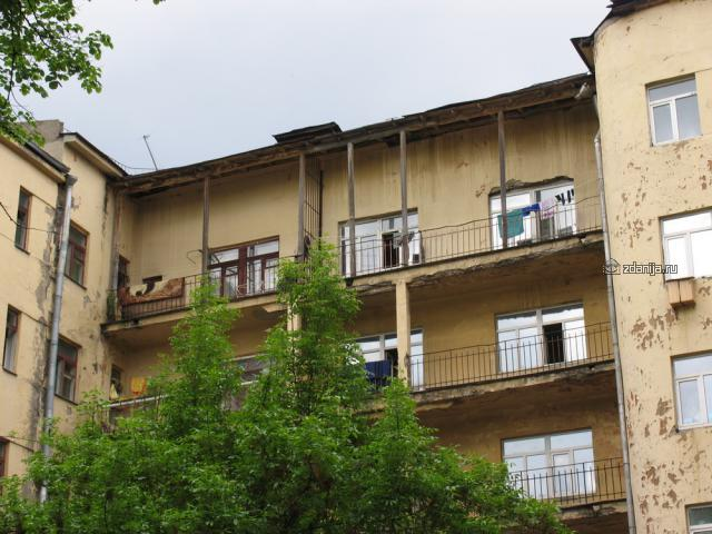 Конструктивистский комплекс общежитий Б.Пироговская, 51