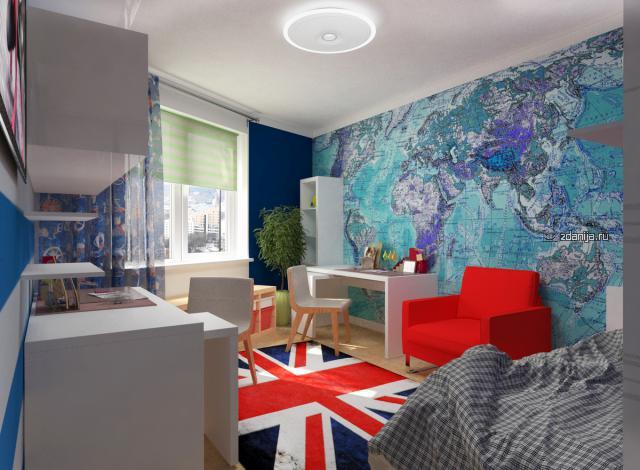 """Дизайн квартир в духе программы """"Квартирный вопрос"""", классика, авангард, детская комната, этно, эконом и др"""