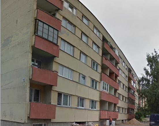 Задний фасад 111-133, Тарту