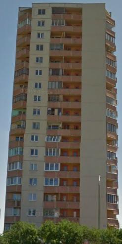 16-этажка №1, передний фасад